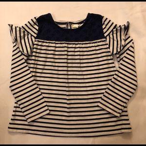 OSHKOSH B'gosh- Toddler Girls Striped Shirt
